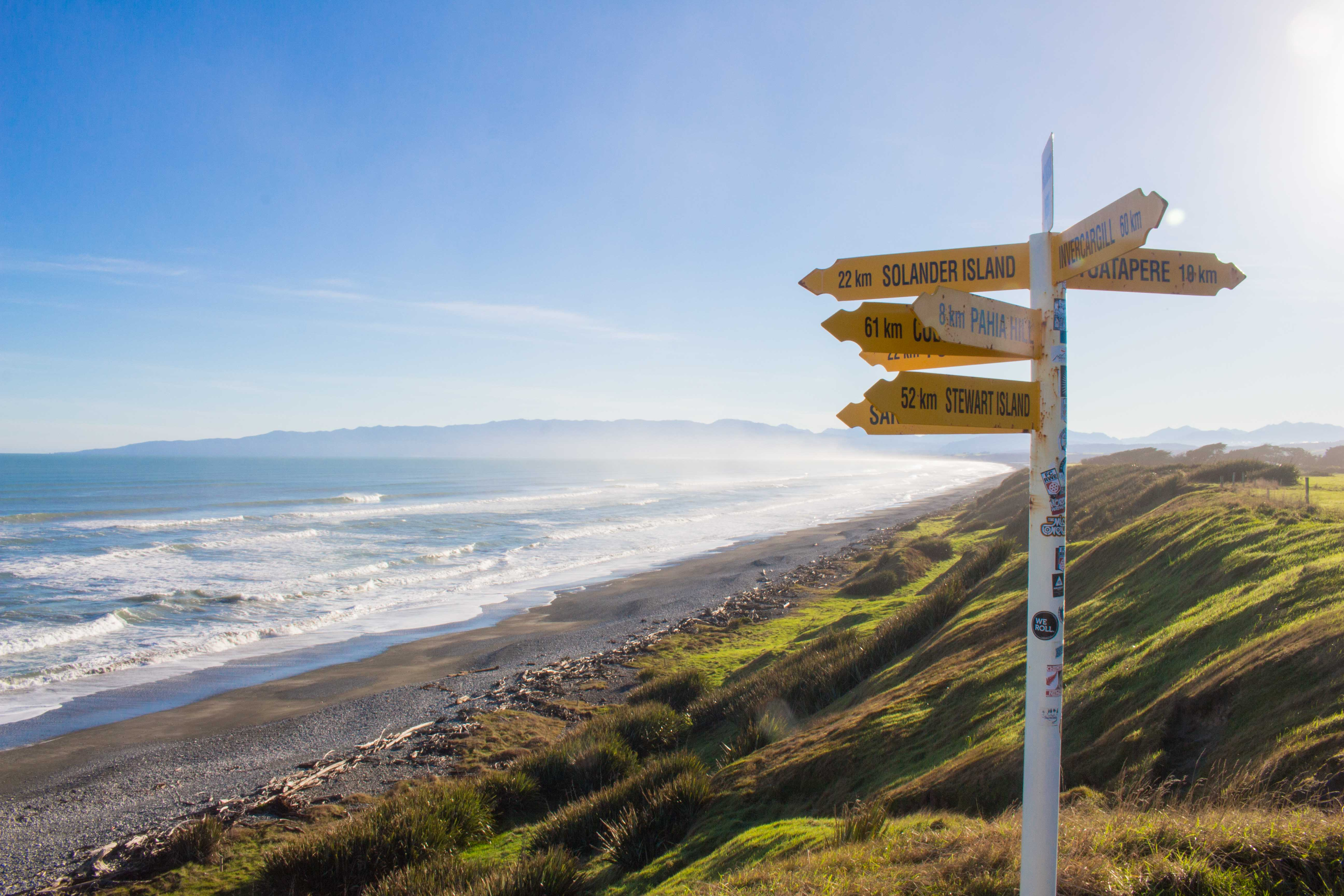 Western Southland Southern Scenic Route